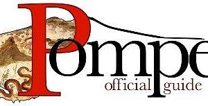 Il logo ufficiale di Pompei Official Guide