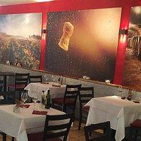 Sala interna del restaurante La terrassa del Maset