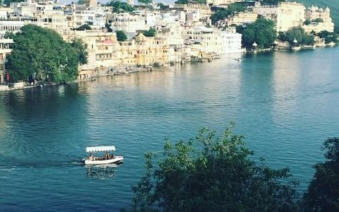 Our view from our hotel room in Udaipur