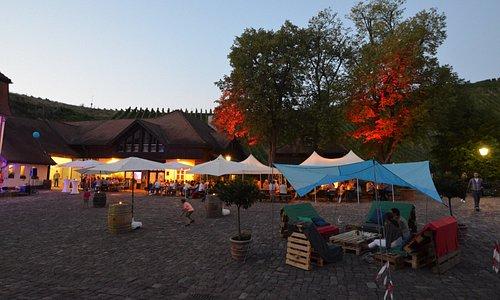 Sommerfest Schloss Neuweier