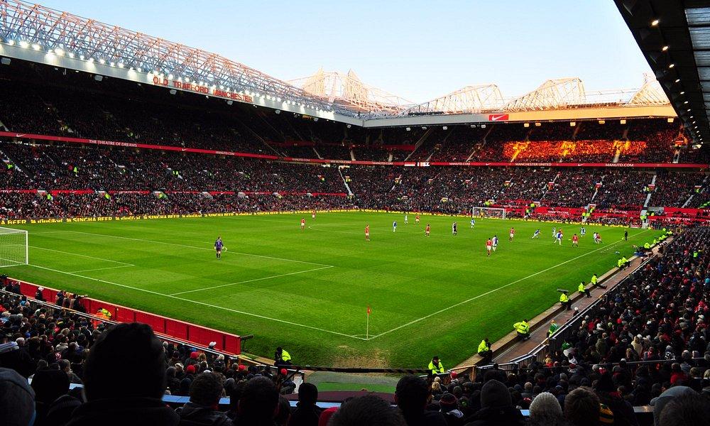 Stadium with 75,000 people