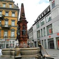 Kaiserbrunnen am Konstanzer Marktstätte