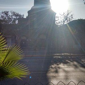 Exterior do monastério