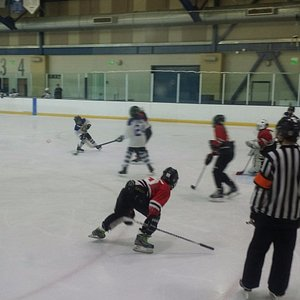 Youth Hockey game at KROC Center
