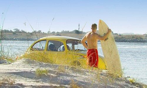 Vilano Beach Surfer