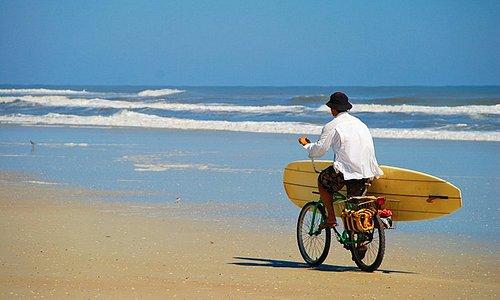 Biking on Anastasia Island