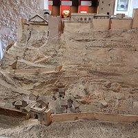 Ricostruzione del Castello nel Museo
