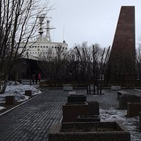 Obelisk in Honour of the Dockers Who Died During the Great Patriotic War