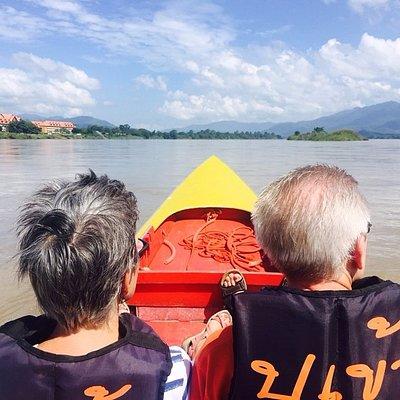 Khong river Chiang Rai.