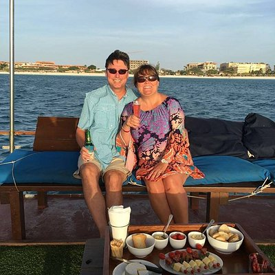 Private sunset cruise with Strea Charters Snorkeling Aruba