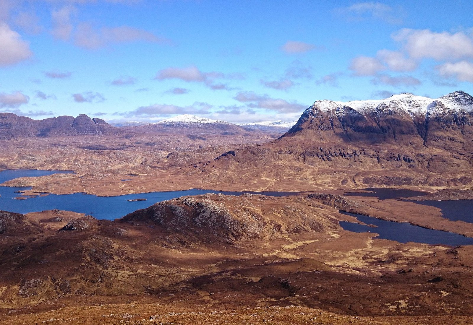 Suilven and Cul Mor from Ben Mor Coigach