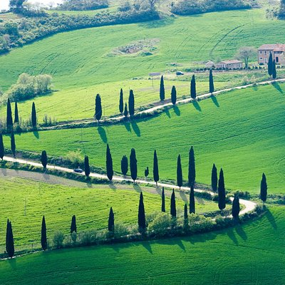 There's nothing like the Tuscan countryside.