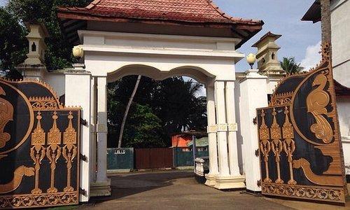 The Entrance of Asokaramaya