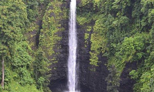 Sopo'aga Waterfall, Upolu Island.