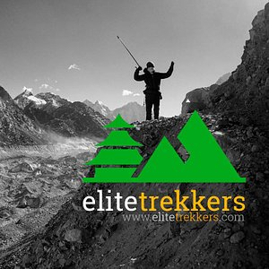 High in the Khumbu Valley, a trekker is returning from Everest Base Camp in Nepal.