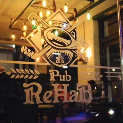 You can find a nice warm place here at ReHaB Pub, with nice cold beers.