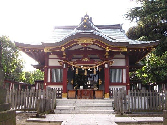 稗田神社 社殿