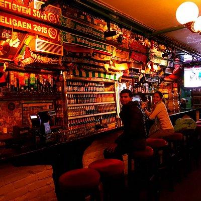 Interiors of Beverly Hills Fun Pub