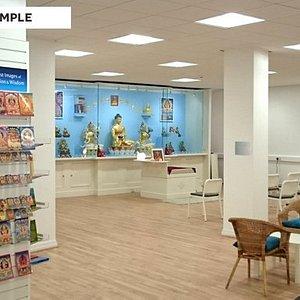 Meditation Space, bookshop & gift shop