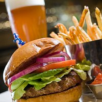 Burger and brew at the Whip Bar & Grill