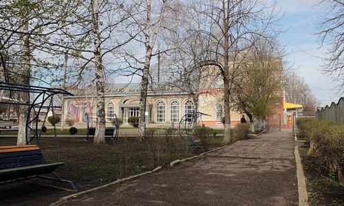 Здание в котором находится историко-краеведческий музей