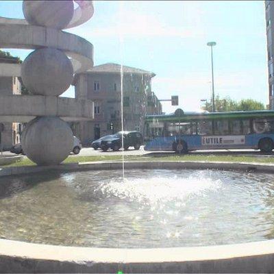 Piazza Camerlata con vista sulla Pasquale Paoli