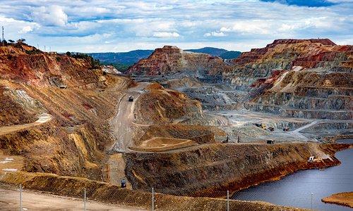 Les mines d'Andalousie