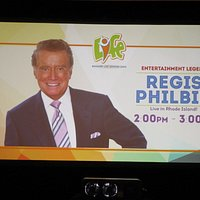 An ad about Regis Philbin.