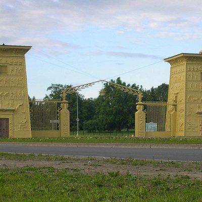 Egyptian Gates in Tsarskoye Selo, Pushkin,Russia
