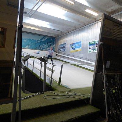 Indoor Ski og Golf