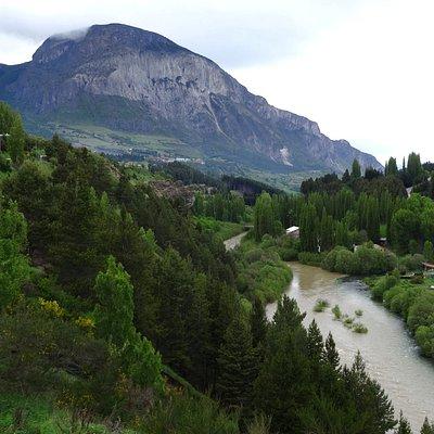 vista del cerro desde la piedra del Indio