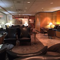 Interior of AA Admirals Club lounge at Toronto (YYZ)
