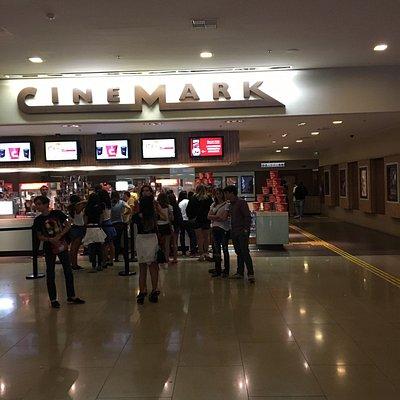 Cinema da rede Cinemark no shopping Iguatemi