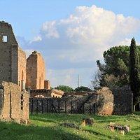 Site archéologique en bordure de la Via Appia Antica