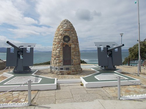 """Main Town centre of Hermanus village for """"Whale Watching."""