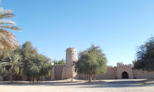 JAHLI PARK, AL AIN. A fort to see at JAHIL PARK.