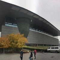 Beijing Capital Museum: a huge building