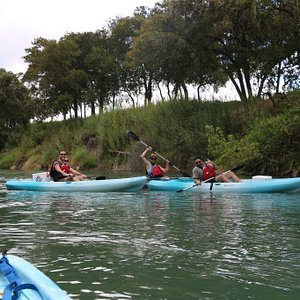 Had a fun paddle with these guys!