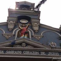 Santiago de Chile. Parroquia del Sagrado Corazón de Jesús.