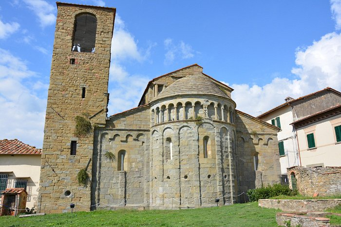 Pieve di Gropina - abside