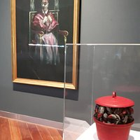 francis bacon and marcel broodthaers