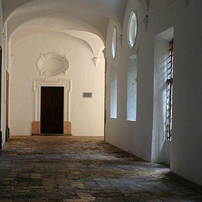 Corredores del monasterio