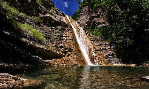 Cascata termale del Carlone, la più famosa delle Cascata del Carlone - Loc. San Cristoforo di Bo