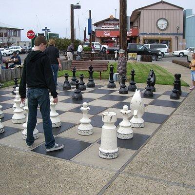 Centennial Park Chess Board