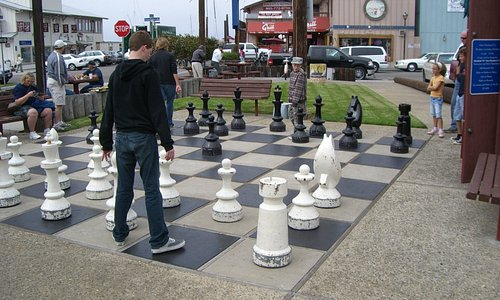 Centennial Park Chess Board