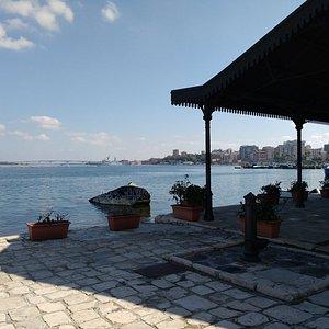 Barrio historico en Taranto