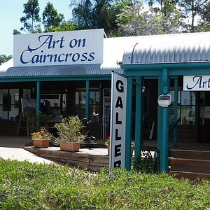 Exterior of Art on Cairncross, Maleny