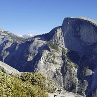 More Half Dome from the North Dome's Face
