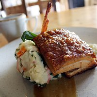 Belly Pork with Bubble & Squeak