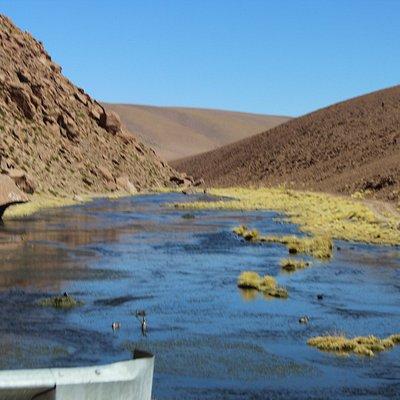 Vista parcial do Vado del Rio Putana